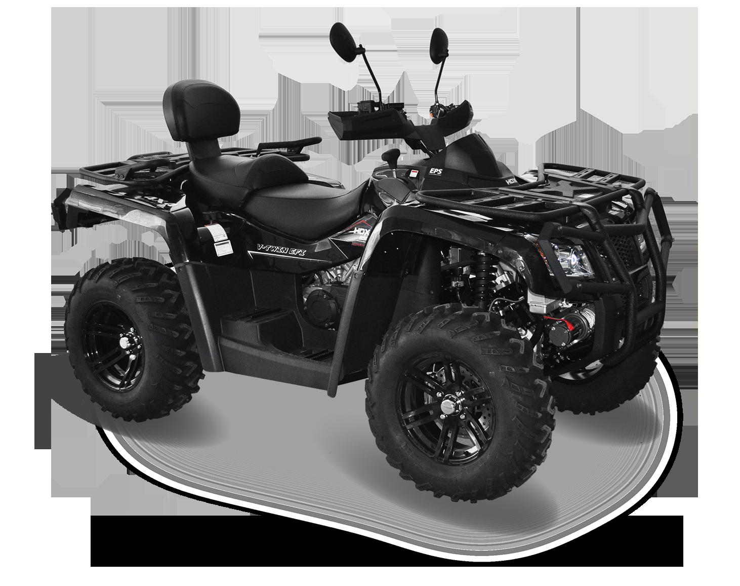 Мотовездеход HDX 850ATV, черныйКвадроциклы<br>Идеальная модель, обладающая высокой мощностью, резвым характером и хорошей проходимостью. HDX 850XT является незаменимым транспортным средством для любителей охоты, рыбалки и активного отдыха. Данный квадроцикл - превосходный выбор для любителей экстрема...<br>