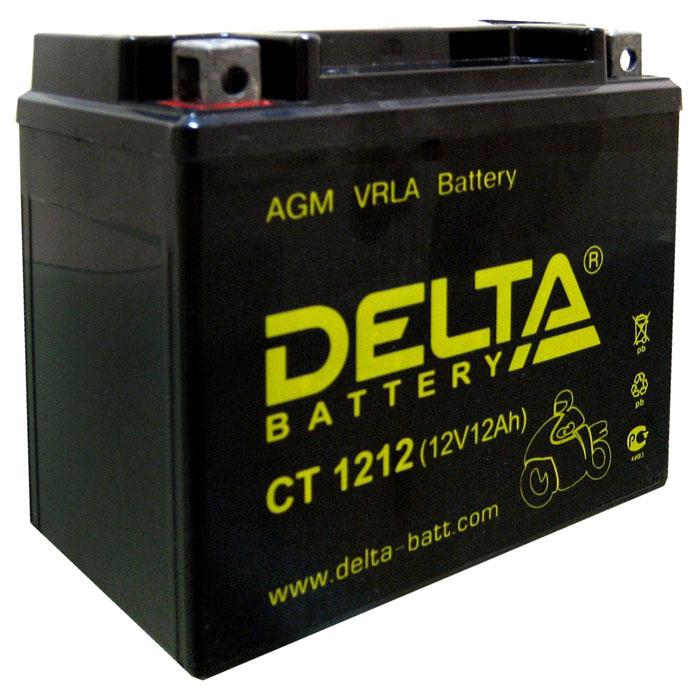 Аккумулятор Delta СТ 1212Аккумуляторы<br>Аккумулятор не требуtт дополнительного технического обслуживания, защищен от протечки кислоты, разработан для использования в любом положении и в широком диапазоне температур от -20C до + 50C.<br>