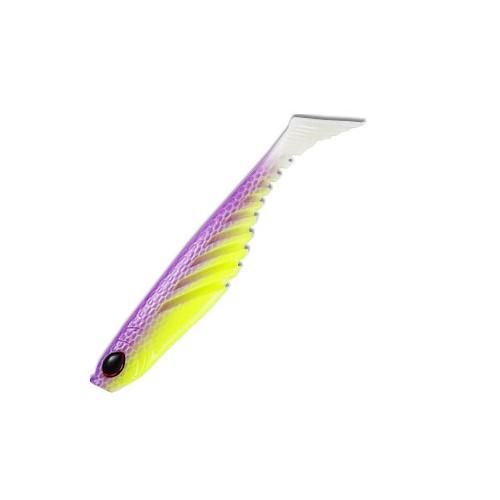 Виброхвост Berkley Powerbait Ripple Shad 7см, силиконовый, цв. желтый/фиолетовый (61782)Мягкие приманки<br>Идеальная приманка для щуки, окуня и судака.<br>