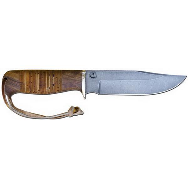 Нож Гепард дамасский (береста )Ножи разные<br>Охотничий нож, который отлично подходит для разделки туш животных, благодаря своей уникальной форме. На клинке имеется выемка для упора.<br>