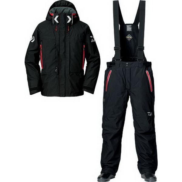 Костюм Daiwa Gore-Tex Product Combi-Up Hi-Loft Winter Suit (Черный) M DW1303 (71479)Костюмы/комбинзоны<br>Костюм изготовлен для холодной зимней погоды. В основе лежит флисовый материал, обладающий влагоотводящим свойством и прекрасно сохраняющим тепло внутри.<br>