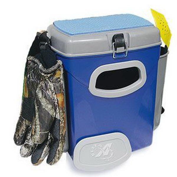 Ящик A-elita рыболова  МАЛЫЙ (пластик,органайзер,отдел. под удочку)36х21х37(см)