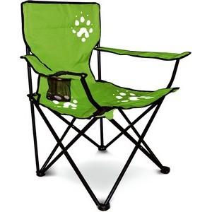 Складной стул Adrenalin Element GreenСтулья, кресла складные<br>Стул имеет прочный и легкий алюминиевый каркас, износостойкое сидение из полиэстера. На одном из подлокотников расположено отделение для стакана.<br>