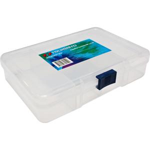 Коробка Tsuribito MP1433BКоробки<br>Удобная пластиковая коробка Tsuribito для хранения и транспортировки приманок. Коробка имеет 4 фиксированных отделения. Размер  14,3 х 10 х 3,3см.<br>