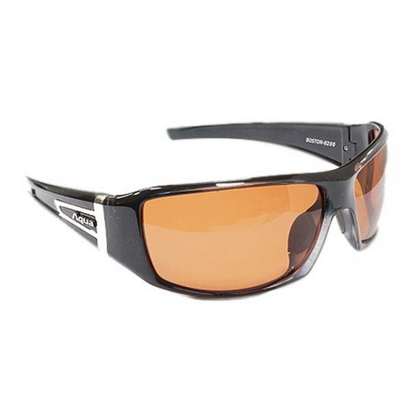Очки поляризационные Aqua 5PB8200PH00A Boston Pearl Black коричневые светлыеОчки<br>Очки поляризационные Aqua специально разработаны для комфортной и безопасной рыбалки.<br>