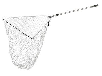 Подсак Cormoran Model 6226Подсачеки<br>Удобный и большой подсак для крупной рыбы. Его легко сложить для транспортировке благодаря телескопической ручке и складному механизму рамы головы. Этот подсак универсален и может быть использован при ловле с лодки и с берега. Материал сетки не впитывает ...<br>