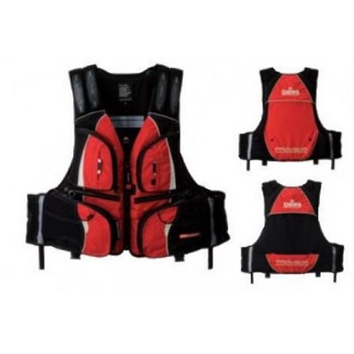 Жилет DAIWA Плавающий PROVISOR PF - 3412 RED L (21491)Спасательные жилеты <br>Спасательный жилет с отстегивающейся подкладкой, и карманами для мелочей.<br>