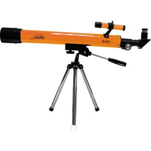Телескоп JJ-Astro Astroboy 50x600Телескопы<br>Базовая модель серии AstroBoy предназначена для начинающих маленьких астрономов, в комплекте поставляется дополнительный окуляр с переменным увеличением, что позволяет использовать телескоп как для изучения неба, так и для наземных наблюдений.<br>
