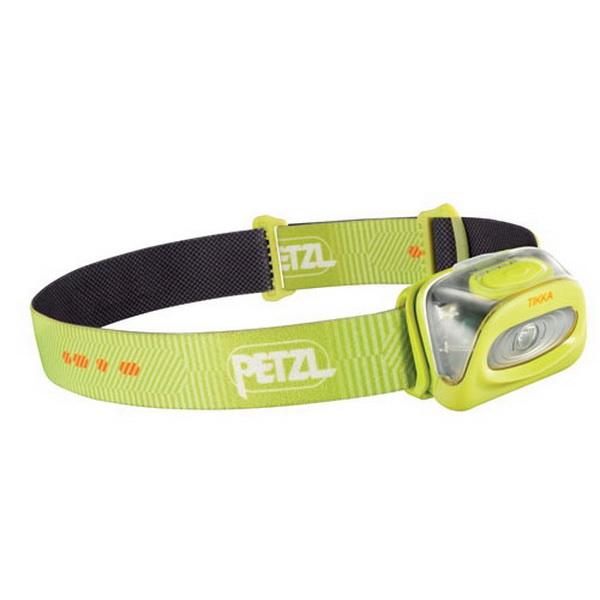 Фонарь налобный Petzl Тикка желтый E93 HYФонари налобные<br>Фонарь  налобный Petzl Tikka с фосфоресцирующим отражателем для поиска в темноте.<br>