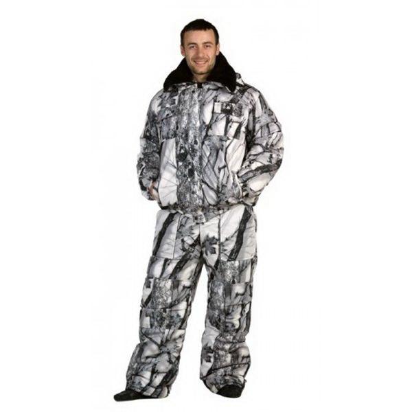 Костюм Космо-Текс Хищник (ПЗ, Alova, рис.YL-035 W, р.96-100, рост 182-188) (82084)Костюмы/комбинзоны<br>«Хищник» - костюм, состоящий из куртки и полукомбинезона и рассчитанный на холода.<br>