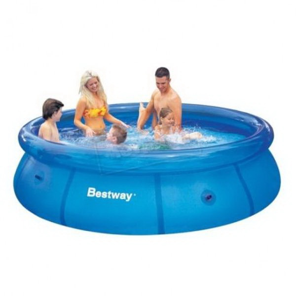 Бассейн Bestway х76 305x76 PoolВодные аттракционы<br>Надувной бассейн для приятного времяпровождения в знойную летнюю погоду. Для установки данной модели не требуется особых навыков и специальных приспособлений.<br>