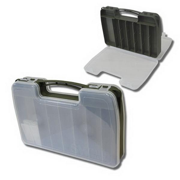 Коробка Salmo рыболов. пласт. 18-46 яч. двухстор.Коробки<br>Небольшая коробочка, предназначенная для хранения рыболовных принадлежностей.<br>