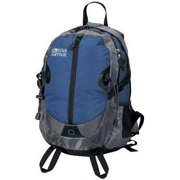 Рюкзак NovaTour Страйк 24 (серый/синий)Рюкзаки<br>Данную модель выбирают энергичные и активные городские жители.<br>