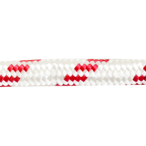 Канат плетеный (полиэстр), 24 косички, 4 красных 10MM (1м)Канаты<br><br>
