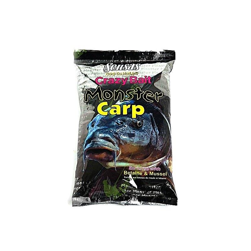 Прикормка Sensas Crazy Bait Monster Carp 1кг