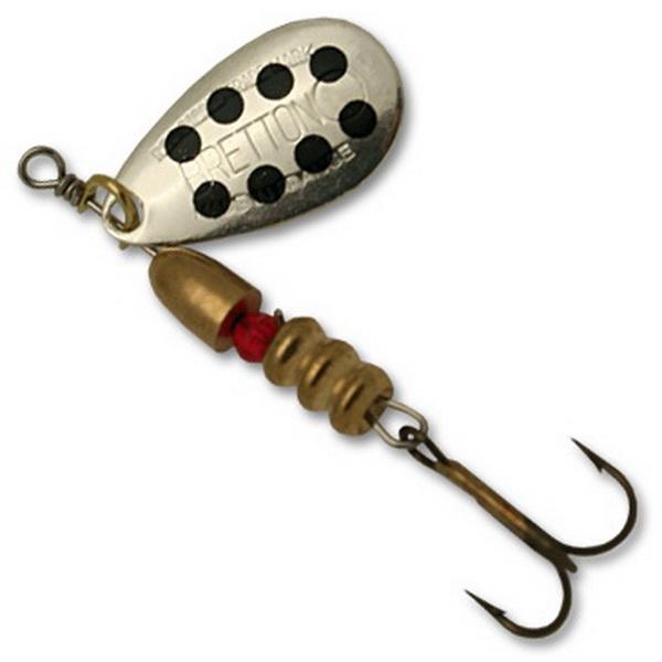 Блесна Fishycat Bretton Original - №3 / SBDБлесны<br>Приманка относится к классическим вращающимся блеснам. Благодаря высокой уловистости, она обладает большой популярностью у рыбаков.<br>