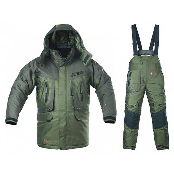 Костюм Graff зимний рыболовный 613/713 О-ВКостюмы/комбинзоны<br>Рыболовный зимний костюм, состоит из куртки и штанов - кобинезона.<br>