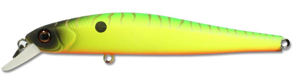 Воблер Kosadaka ION XS 110F плав., 110мм, 14.2г., 0.3-1.0м, цв.MHT IonxS110F-MHT IonxS110F-MHT (117284)Воблеры<br>Размер приманки говорит за себя, этот воблер рассчитан на рыбу покрупнее, типично твичинговый минноу для щучьих охотников, кто не разменивается на прилов., а целиться на экземпляры от… И выше. Приманка послушная, хорошо уходит в сторону и привлекательно м...<br>