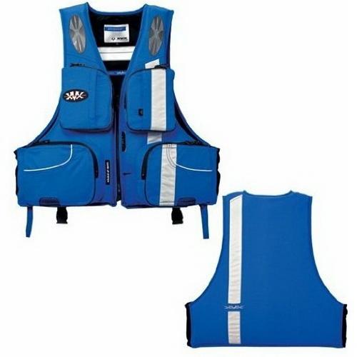 Жилет Daiwa Плавающий XVX XF - 6313 Blue LL (21506)Спасательные жилеты <br>Легкий и надежный спасательный жилет. Имеется возможность отстегивания подкладки.<br>
