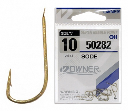 Одинарный крючок Owner 50282Одинарные крючки<br>Крючки Owner серии 50282 – модель с «квадратным» изгибом, выполненная из тонкой проволоки, рекомендована для ловли небольшой рыбы. Имеет пружинистый характер, и для серьезной добычи этого может оказаться не достаточно.<br>