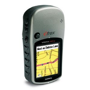 Портативный GPS навигатор Garmin eTrex Vista HCXТуристические GPS навигаторы<br>Высокочувствительный GPS-приемник прибора eTrex Vista HCx обеспечивает прием спутниковых сигналов даже в сложных условиях (под плотными кронами деревьев и в глубоких оврагах). Как и модель Vista Cx, этот портативный навигатор включает в себя яркий цветной...<br>