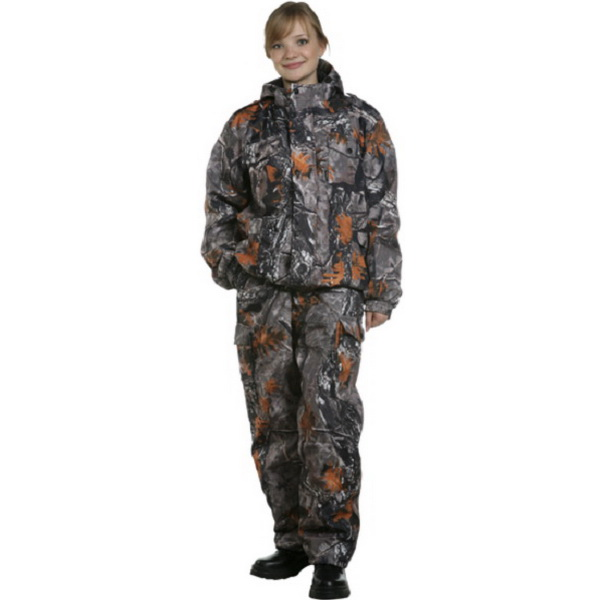 КостюмПатронСледопыт Дуплекс (СВО, Duplex, рис.FL1018, р.96-100, рост 170-176) (81165)Костюмы/комбинезоны<br>Демисезонный костюм, состоящий из куртки и брюк. Лицевая часть капюшона регулируется по высоте резиновым шнуром.<br>