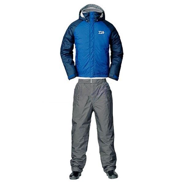 Костюм зимний Daiwa RainMax HI-Loft голубой XXXL (68028)Костюмы/комбинзоны<br>Универсальный костюм для рыбалки и активного отдыха DW-3503 выполнен из современного материала RAINMAX® от фирмы Daiwa . Данный материал обеспечит комфортное пребывание на природе при сильном ветре, дожде или отрицательной температуре за счёт дышащих свой...<br>
