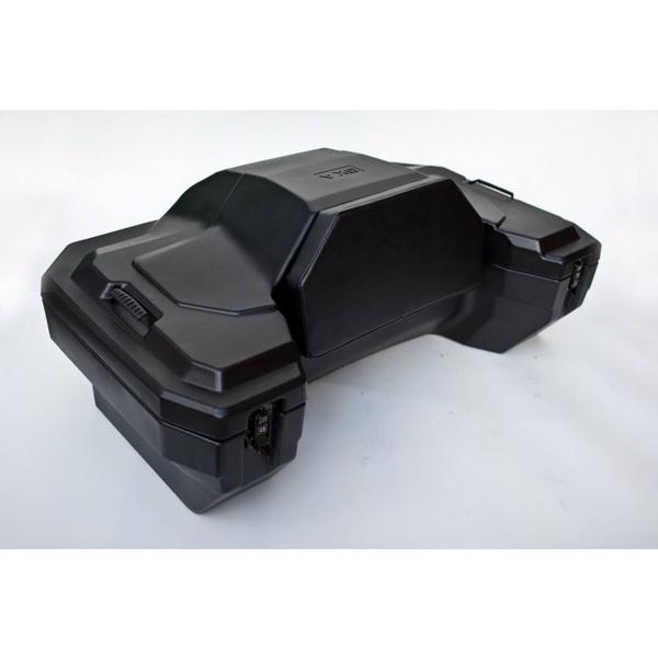 Кофр GKA задний 8020 (черный)Кофры<br>Пластиковый кофр для квадроцикла. Подходит для большинства популярных моделей, таких как CFMOTO, Cectec, Yamaha, Honda, BRP, Suzuki, Polaris, Kawasaki, Kymco и других<br>