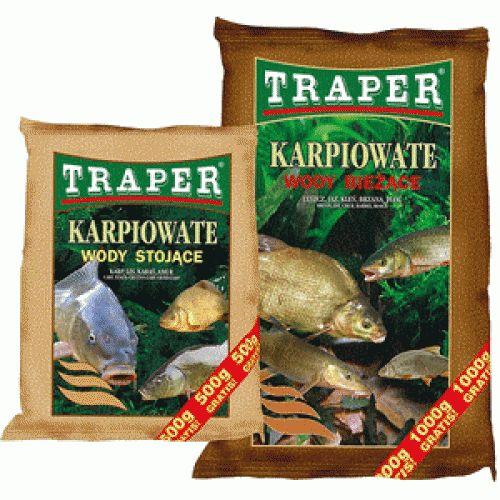 Прикормка Traper Carp Family Fish - running waters (Семейство карповых рыб для проточной воды) 2,5кг 00075Прикормки<br>Недорогие базовые смеси, использующиеся при длительной ловле, либо для приваживании рыб семейства карповых.<br>