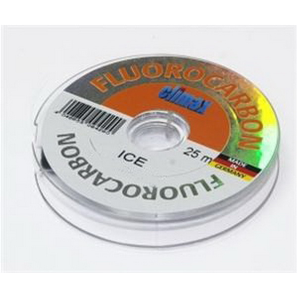 Леска Climax Fluorocarbon Ice (прозрачная) 25м