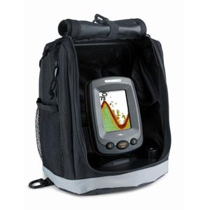 Эхолот Humminbird PiranhaMAX 190c PortableЭхолоты<br>PiranhaMAX 190c portable   новый однолучевой эхолот с цветным дисплеем (256 цветов) разрешения 320Х240. Эхолот укомплектован мягкой сумкой-рюкзаком.<br>