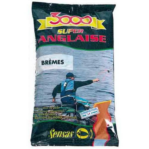 Прикормка Sensas 3000 Super Anglaise Bremes 1кгПрикормки<br>Высококачественная смесь, ориентированная на быстрое привлечение рыбы в зону ловли. В ее состав входят семена крупного помола.<br>