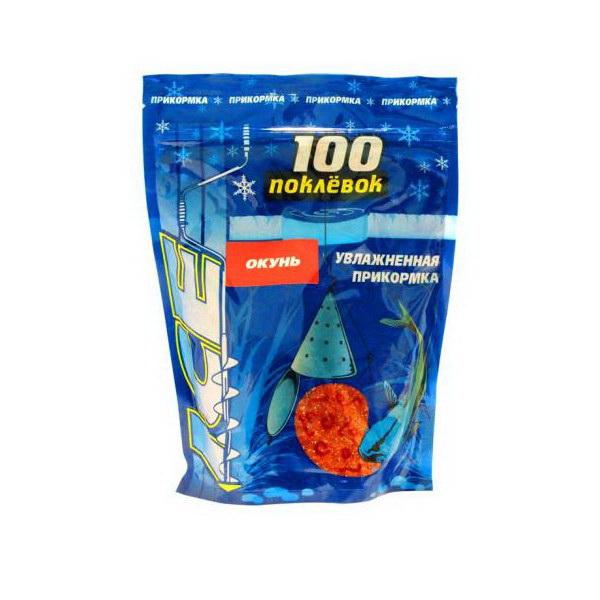 Прикормка 100 Поклевок Ice Окунь 500 гр.