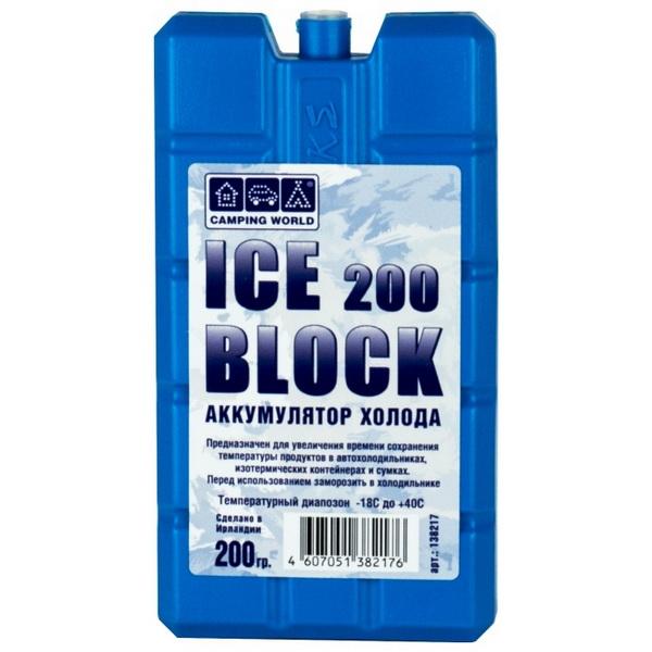 Аккумулятор Camping World холода Iceblock 200