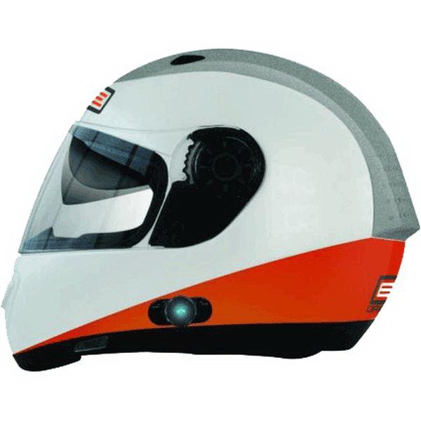 Шлем Origine (интеграл) Vento Triplo оранжевый/белый глянцевый LШлемы и маски<br>Шлем Origine (интеграл) Vento Triplo изготовлен из высокопрочного термопластика, устойчивого к солнечному излучению.<br>