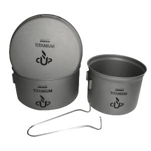 Набор посуды Adrenalin Titanium Compact
