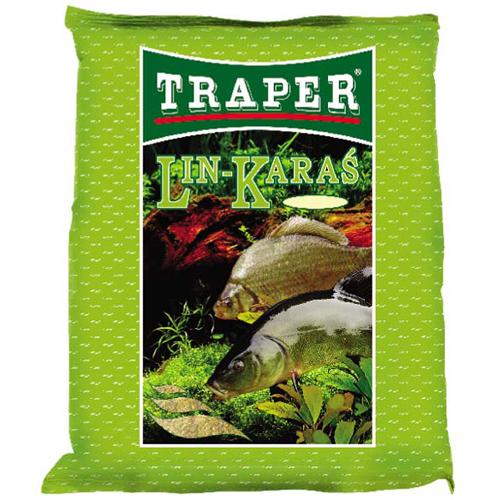 Прикормка Traper Tench Crucian Carp (Линь - карась) 2,5кг 00066Прикормки<br>Приманка предназначена для ловли линя и карася. Идеально подобранные компоненты приманки, быстро приманивают и долго удерживают в месте ловли эти виды рыб.<br>