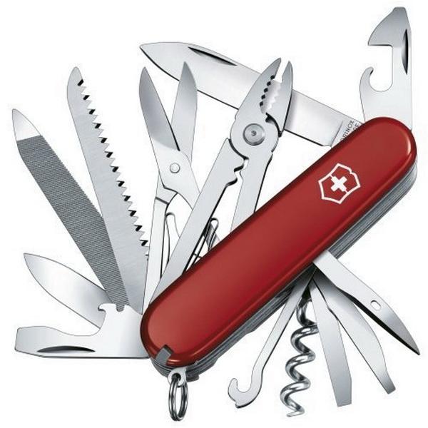 Нож Victorinox офицерский 1.3773 (24389)Ножи разные<br>Универсальный аксессуар с большим количеством функций. В комплектацию входит фонарь.<br>