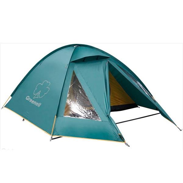 Палатка NovaTour Керри 4 v.2 ЗеленыйПалатки<br>Универсальная палатка купольного типа. Имеет один вход и один тамбур.<br>