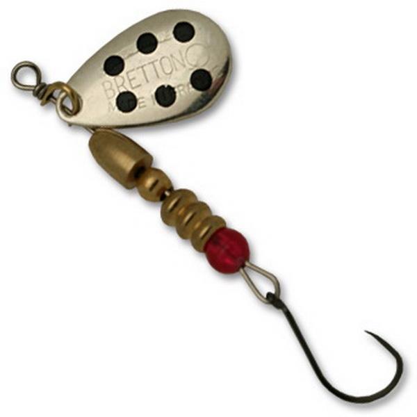 Блесна Fishycat Bretton Nokill - №3 / SBD (76085)Блесны<br>Блесна обладает замечательной игрой при проводках, благодаря наличию лепестка с зеркальным блеском. Наиболее эффективно приманка проявляет себя при ловле щуки и судака.<br>