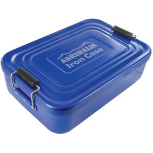 Миска-контейнер для хранения пищи Adrenalin Iron Case BlueПосуда туристическая<br>Контейнер из анодированного алюминия Iron Case.<br>Предназначен для переноски и хранения готовых блюд, также в нем можно разогревать пищу на газовой горелке. Подходит для хранения пищи для 1-2 человек.<br>