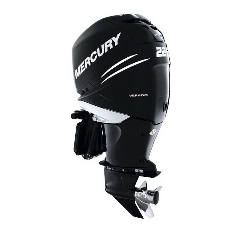 Мотор Mercury ME 225L VeradoПодвесные моторы<br>Четырехтактный подвесной лодочный мотор с электрической системой управления. Работает с низким уровнем шума и вибрации.<br>