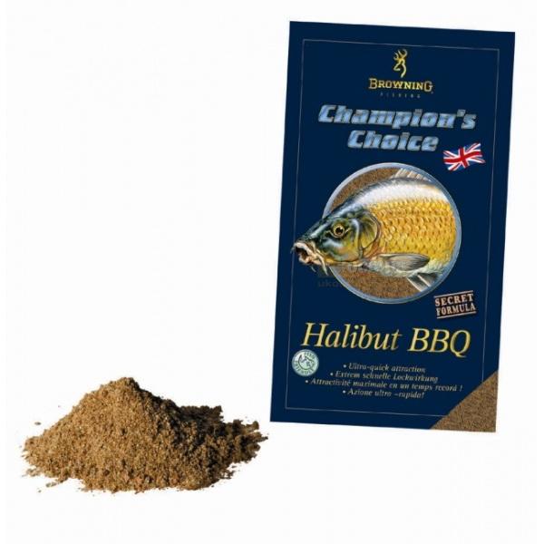 Прикормка Browning Groundbait CC Halibut BBQ 1kgПрикормки<br>Прикормка с приятным ароматом не оставит равнодушными любую рыбу. Состоит из множества компонентов высокого качества.<br>