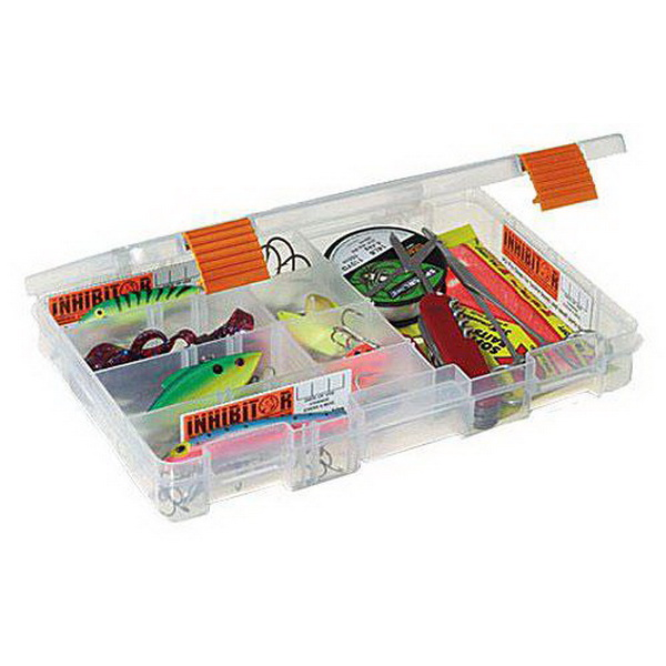 Коробка Plano 2-3650-02Коробки<br>Коробка для рыболовных принадлежностей, выполнена из ударопрочного пластика, с надежными запорами.<br>