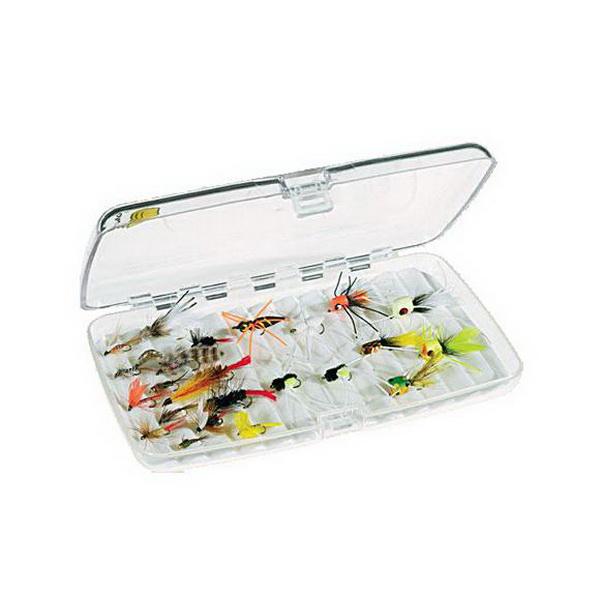 Коробка Plano 3583-00Коробки<br>Коробка для рыболовных принадлежностей, выполнена из ударопрочного пластика, с надежными запорами.<br>