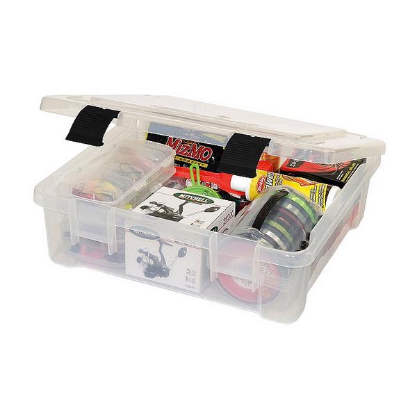 Коробка Plano 7080-01Коробки<br>Модель среднего размера для хранения принадлежностей и рыболовных приманок.<br>