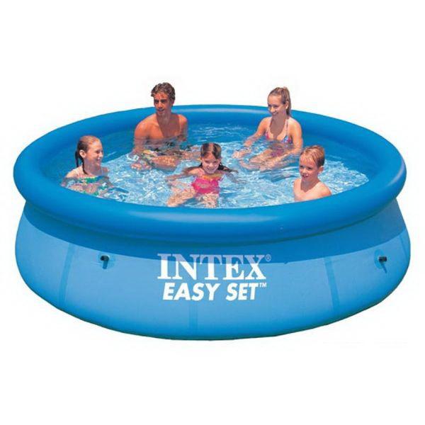 Бассейн Intex изи сет 3,05х0,76мВодные аттракционы<br>Надувной бассейн, разработанный специально для комфортного семейного отдыха. Основное достоинство данной модели - это небольшие габаритные размеры.<br>