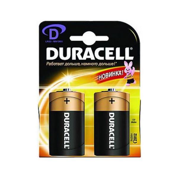 Элемент питания Duracell LR20 (MN1300) (2 шт)