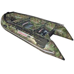Надувная лодка Nissamaran Tornado 360 (цвет камуфляж зеленый)