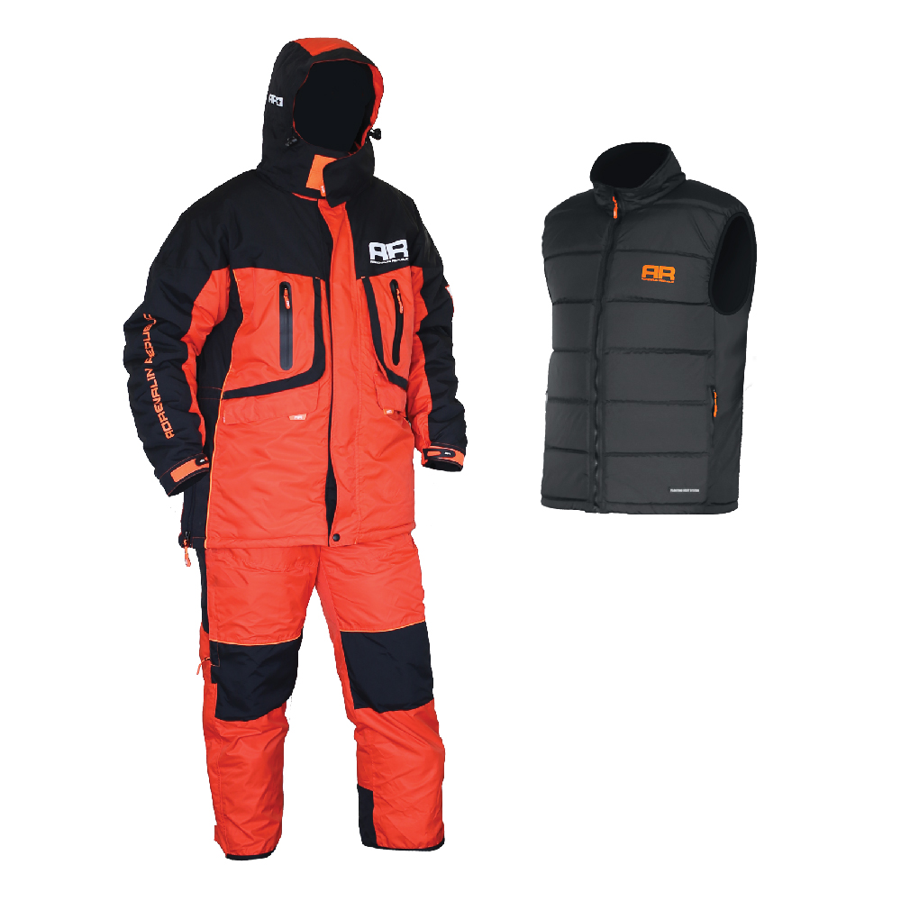 Костюм зимний для рыбалки Adrenalin Republic EVERGULF 3in1, XL с плав. жилетом (89915)